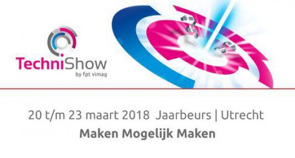 Messe für Produktionstechnologie März 2018 in Utrecht