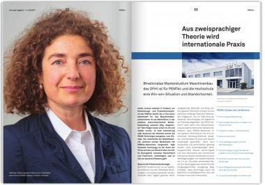 PEMTec in university's magazine